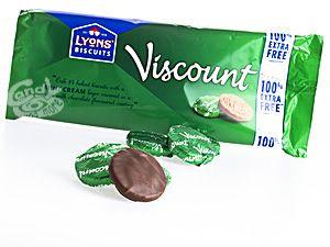 Lyons Biscuits Viscount Mint Cream 196 g