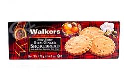 Walkers Stem Ginger Shortbread a 175 g