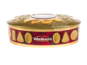 """Walkers """"Oval Gold"""" Shortbread Thin 175 g"""