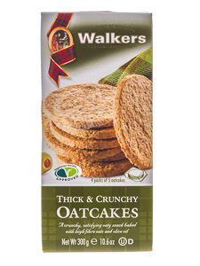 Walkers Thick & Crunchy Oatcakes 300 g