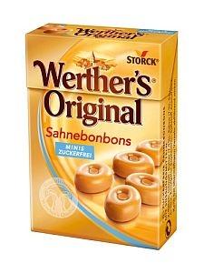 Storck Werther`s Original Minis zuckerfrei a 42 g