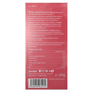 Xucker Erdbeer-Joghurt Weißolade 100 g